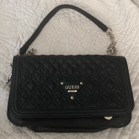Guess Handbags - Guess mint condition cross body purse.